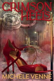 Michele Venne crimson heels